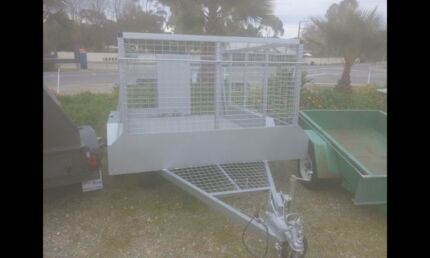 New 10x6 full cage trailer Rhynie Clare Area Preview