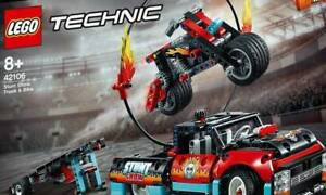 LEGO Technic Stunt Show Truck and Bike 42106 SPECIAL