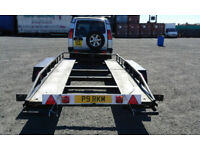 Brian James Car Transport Trailer. Will swap for a larger trailer.