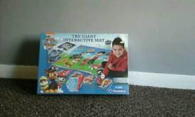 Giant paw patrol interactive play mat.