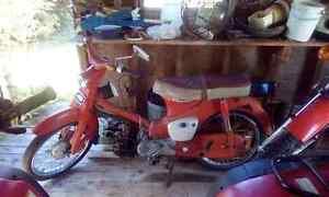 1967 honda 50 motorcycle