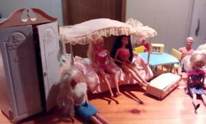 Vintage Barbie collection