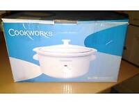 Cookworks slow cooker