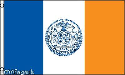 New York City United States of America USA 5'x3' Flag !
