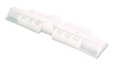 Prime-Line  Top mount Bi-fold Snugger  White  2 - Prime Line Top