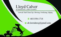 Spring Lawn Clean Ups, Aerate, Power Raking, Edging
