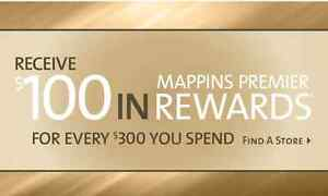Mappins coupons