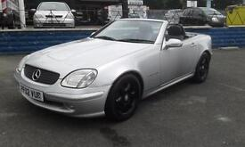 2002/02 MERCEDES BENZ SLK200 KOMP 2.0 SPORTS IMMACULATE CONDITION LOW MILEAGE