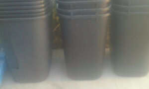 Garbage and Recycling Bins, only $3
