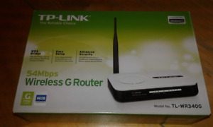 TP Link 54Mbps Wireless G Router