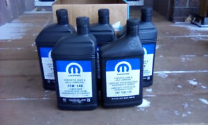 75w140 synthetic gear oil Mopar