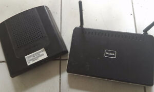 Thomson DCM475 and D-Link DIR-615 Wireless Router