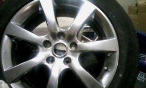 "Infinite 17"" , 7 spoke alloy rim and Eagle RS tire"