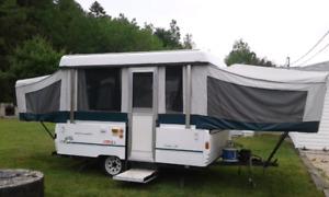 Trade pop up & tracks for camper