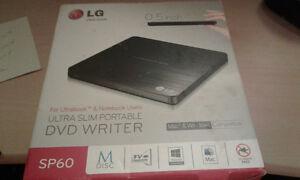 For Sale-LG Ultra Slim Portable DVD Writer