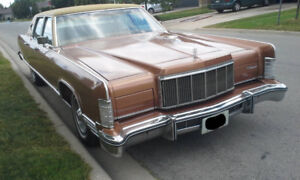 1975 Lincoln Continental Towncar