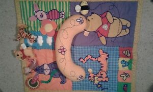Winnie-the-Pooh Infant Play Mat with Head Rest