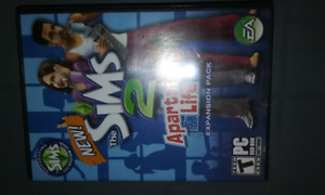 Pc CD THE  Sims 2 Apartment  Life  expansion pack