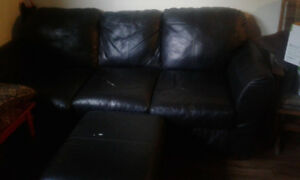Couch & ottoman for pick up asap!