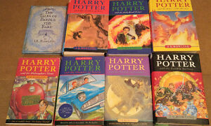 Harry Potter 1-7 + Beedle The Bard