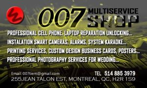REPARATION, UNLOCK PHONE AND LAPTOP - 15 YEARS EXPERIENCE!!!