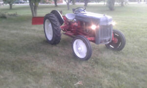 **Classic Ford 8N tractor wi 72inch blade, chains, PTO $2400 obo