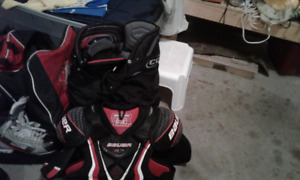 set of hockey gear will piece out