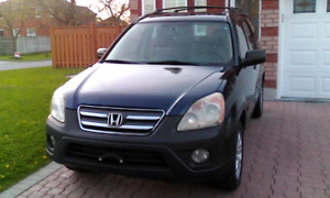 2006 HONDA CRV,EX, NO ACCIDENT, CLEAN IN & OUTSIDE