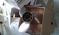 Stainless steel prop fits 165 up mercriuser