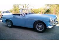 MG Midget MK2 classic car 1965