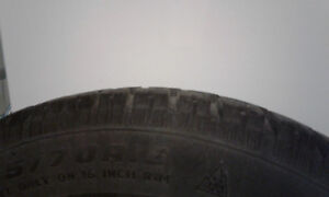 215/70R16 Cooper Discoverer M+S winter tires and rims $300 obo