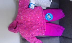 columbia snow suit brand new