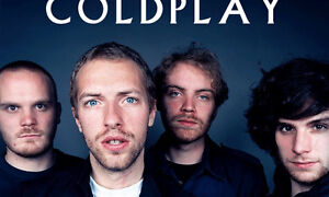 2 Tickets to sold out Coldplay: A Head Full of Dreams Tour