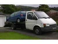 Ford Transit Recovery Truck, 2.5D, only 87000 miles, winch, remote, mot,
