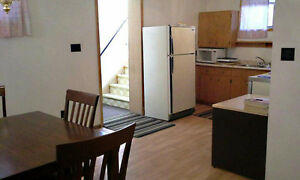 Larger two bedroom apartment, fridge/stove, washer/dryer.