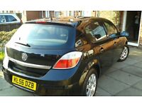 1.4 black Astra 5 Door club model rolling chassis