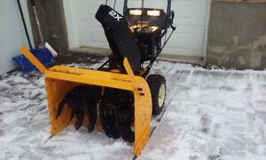 Cub CADET 420cc SNOW BLOWER