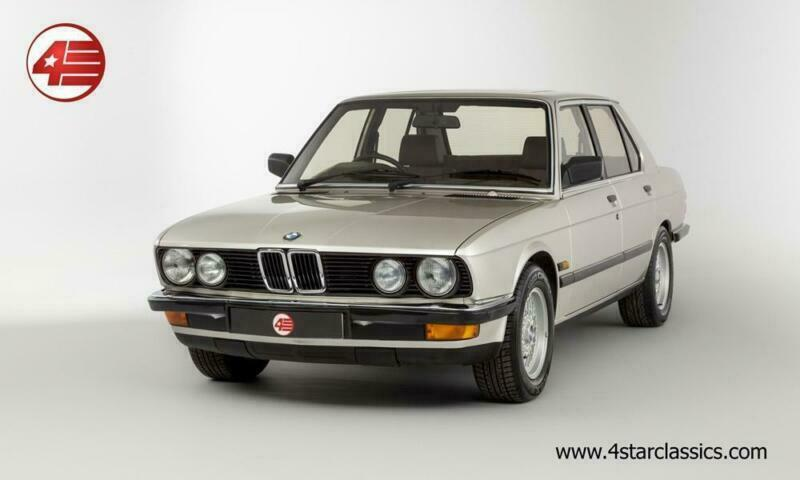 BMW E28 525e 2.7 Auto 1986 /// 107k Miles