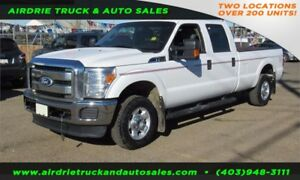 2012 Ford Super Duty F-250 SRW XLT Crew Cab 8 FT Long Box!!