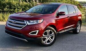 2015 Ford Edge Titanium fully loaded with navigation