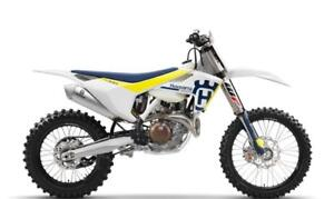 2017 Husqvarna FX 450 Off-Road Motorcycle! Factory Rebate $1,000