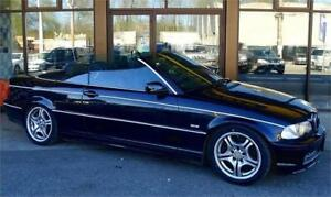 2000 BMW 330CI Convertible 127K's Black Leather SPECIAL OFFER!!!