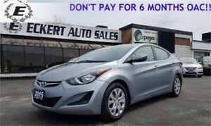 2015 HYUNDAI ELANTRA GL/BLUETOOTH/GREAT GAS MILEAGE!!
