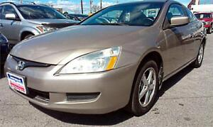 2003 Honda Accord Coupe EX AUTO, LEATHER, S-ROOF, NO ACCIDENTS