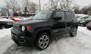 2015 Jeep Renegade North 4X4 only 34,000 kms