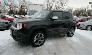 2016 Jeep Renegade Limited 4X4 Leather Loaded