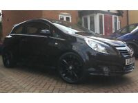 Vauxhall Corsa D SXI with the Limited Edition body kit.