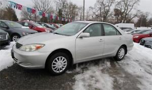 2004 Toyota Camry LE only 95000kms Automatic Local Trade In