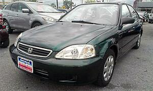 1999 Honda Civic LX Auto, Air, 4DR, 191k,3 YEARS WARRANTY