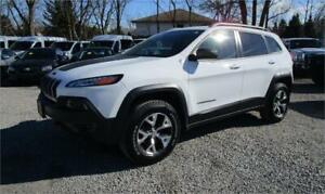 2015 Jeep Cherokee Trailhawk 4X4 Only 34,000 kms